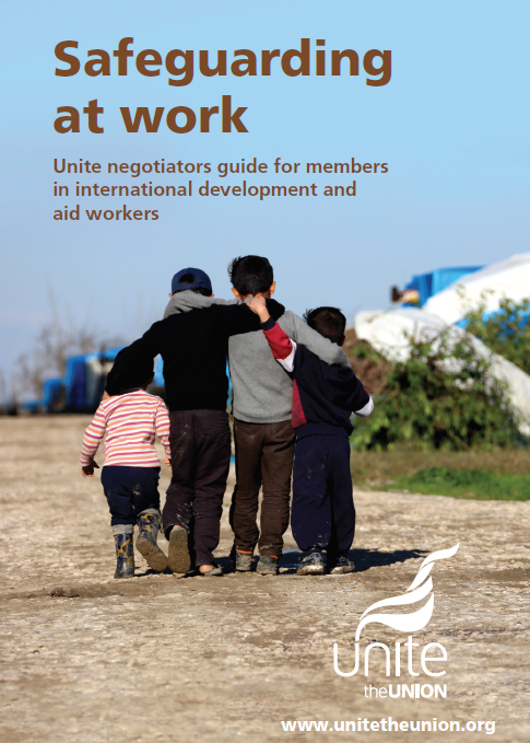 Safeguarding at work - new reps guide for international and aid workers