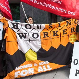 Housing Workers prepare for action!